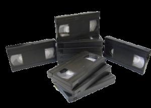 10 cassettes VHS