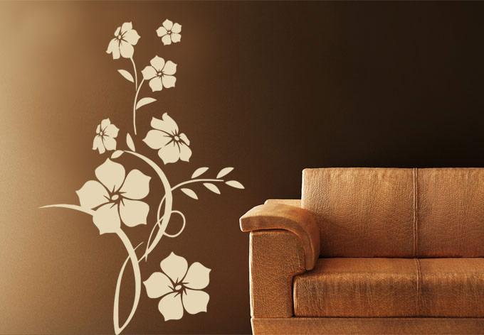 stickers de fleurs